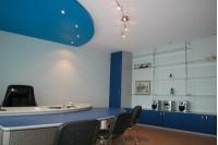 Натяжной потолок в офисе или кабинете