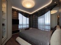 Натяжные потолки в спальной комнате_14