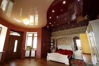 Натяжные потолки в спальной комнате_24