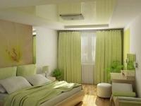 Натяжные потолки в спальной комнате_6