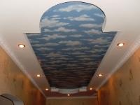 Натяжные потолки в коридоре_39