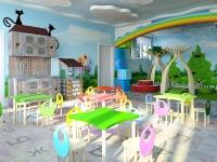 Натяжные потолки в детской комнате_13
