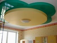 Натяжные потолки в детской комнате_14