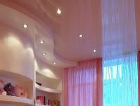 Натяжные потолки в детской комнате_15