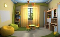 Натяжные потолки в детской комнате_20