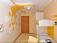 Натяжные потолки в детской комнате_21