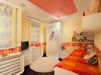 Натяжные потолки в детской комнате_22