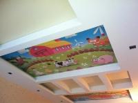 Натяжные потолки в детской комнате_23