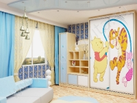 Натяжные потолки в детской комнате_28