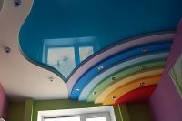 Натяжные потолки в детской комнате_2