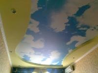 Натяжные потолки в детской комнате_31