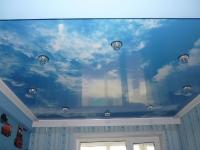 Натяжные потолки в детской комнате_33
