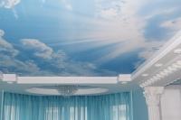 Натяжные потолки в детской комнате_7