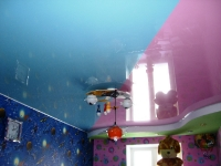 Натяжные потолки в детской комнате_8