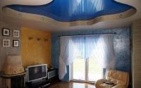 Натяжные потолки в зале, гостинной_20