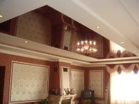 Натяжные потолки в зале, гостинной_5