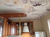 Натяжные потолки на кухне_10