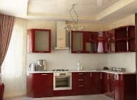 Натяжные потолки на кухне_25