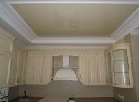 Натяжные потолки на кухне_4