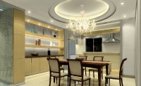 Натяжные потолки на кухне_9