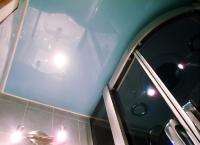 Натяжные потолки в ванной комнате_1