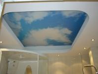 Натяжные потолки в ванной комнате_22