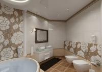 Натяжные потолки в ванной комнате_26