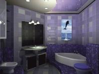 Натяжные потолки в ванной комнате_28
