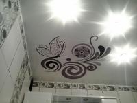 Натяжные потолки в ванной комнате_2