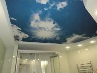 Натяжные потолки в ванной комнате_30