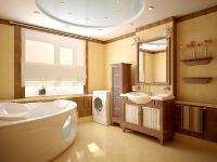 Натяжные потолки в ванной комнате_34