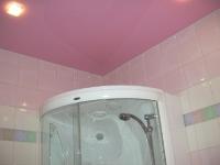 Натяжные потолки в ванной комнате_5