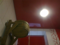 Натяжные потолки в бассейне, сауне_14