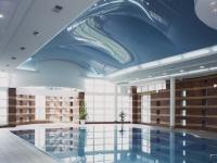 Натяжные потолки в бассейне, сауне_19
