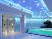 Натяжные потолки в бассейне, сауне_20