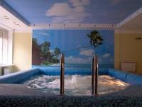 Натяжные потолки в бассейне, сауне_21