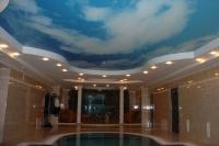 Натяжные потолки в бассейне, сауне_22