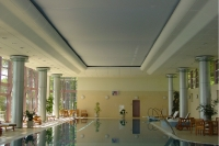 Натяжные потолки в бассейне, сауне_25