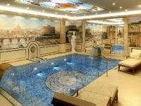 Натяжные потолки в бассейне, сауне_30