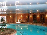 Натяжные потолки в бассейне, сауне_32