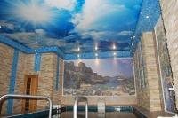 Натяжные потолки в бассейне, сауне_4