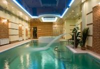 Натяжные потолки в бассейне, сауне_5