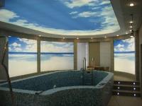 Натяжные потолки в бассейне, сауне_6