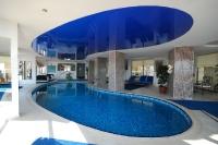 Натяжные потолки в бассейне, сауне_7