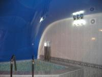 Натяжные потолки в бассейне, сауне_8