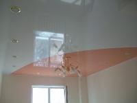 Одноуровневые натяжные потолки_2