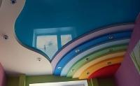 Многоуровневые натяжные потолки_10