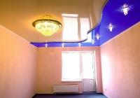 Многоуровневые натяжные потолки_16