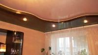 Многоуровневые натяжные потолки_1