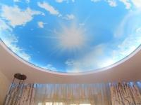 Натяжные потолки с подсветкой_13